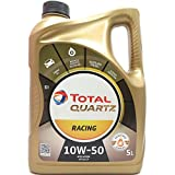 Total Aceite de Motor Quartz Racing 10W-50, 5 l