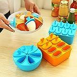 BECCYYLY 3 Set Cell Ice Pop Maker Molde, CE Lolly Moldes Bandeja DIY Cocina Reutilizable Helado congelado Molde wmpa
