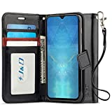 J&D Case Compatible for OnePlus 6T Case, Wallet Stand Slim Fit...