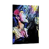 WANGYY 6 Billie Holiday Leinwand-Kunst-Poster und