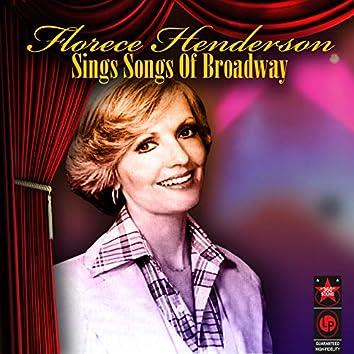 Sings Songs Of Broadway