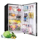 Compact Refrigerator, 4.5Cu.Ft(128L), TECCPO, Mini Fridge with LED Light, Energy Star, Super Quiet,...