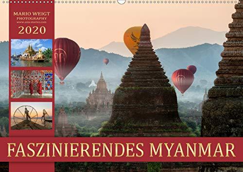 FASZINIERENDES MYANMAR (Wandkalender 2020 DIN A2 quer)