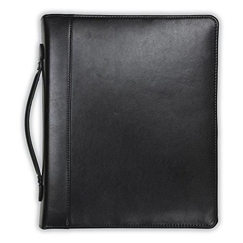 Samsill Regal Leather Padfolio Zipper
