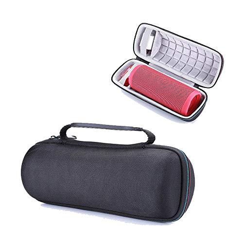 Draagbare koptelefoon tas geschikt voor JBL audio opbergtas jbl Flip5 4 3 speaker beschermhoes draagtas (zwart)