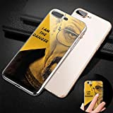 GFJGU xrpwkaqg xwd Personalized Custom TPU Transparent Phone Cover Case For Fudna iPhone 7 Plus/8 Plus