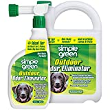 Simple Green Outdoor Odor Eliminator for Pets, Dogs, Ideal for Artificial Grass & Patio (32 oz Hose End Sprayer & 1...