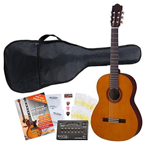 Yamaha CS40 Konzertgitarre 3/4 SET inkl. Zubehörset + Tuner