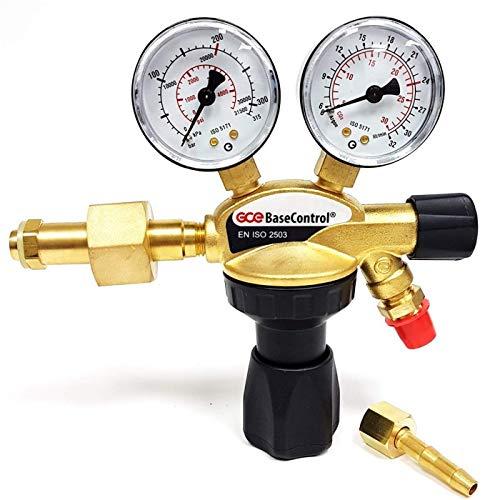 Reductor de presión Argón CO2 200 bar BaseControl MIG MAG TIG WIG
