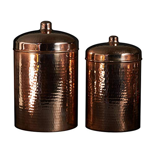 Great Deal! Sertodo Kitchen Canister set of 2, Includes 5.25 quart and 3.25 quart canisters, Pure Co...