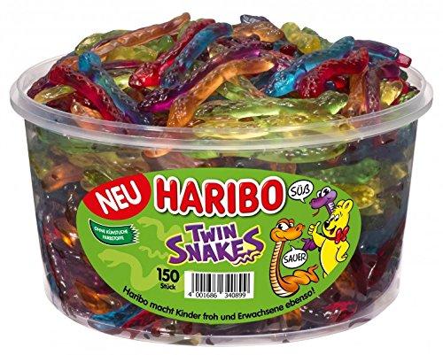 Haribo Twin Snakes 150er Pack 1200 g