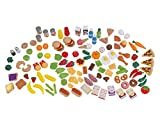 Kidkraft 135 Teiliges Spiel-Lebensmittel Set