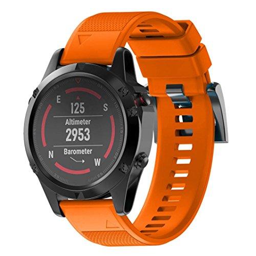 OverDose Correa de Reloj Correa de Banda de Kit de Lanzamiento rápido para Garmin Fenix 5X GPS Watch
