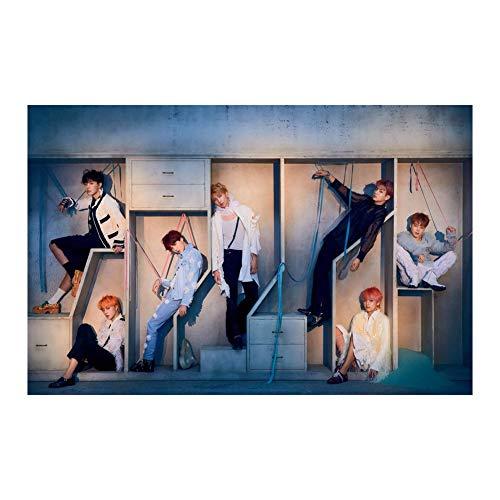 Yovvin BTS Poster, Kpop Bangtan Jungen [Love Yourself 結 Answer] Wanddekoration, Sammlung und Beste Geschenk für The Army(Style 01)