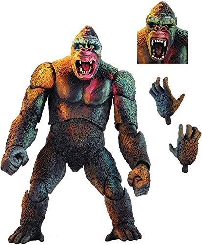 NECA King Kong Figur Illustrierte Farbausgabe One Size