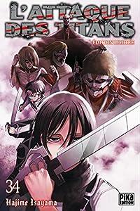 L'Attaque des Titans Edition limitée Tome 34