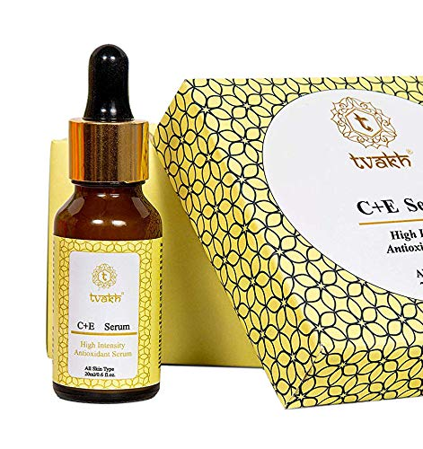 Glamorous Hub Tvakh 20% Vitamin C Serum for Face High Intensity Serum with Vitamin E 20 ml (Packing May Vary)
