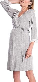 Vestido de Maternidad de Las Mujeres Verano 3/4 Mangas