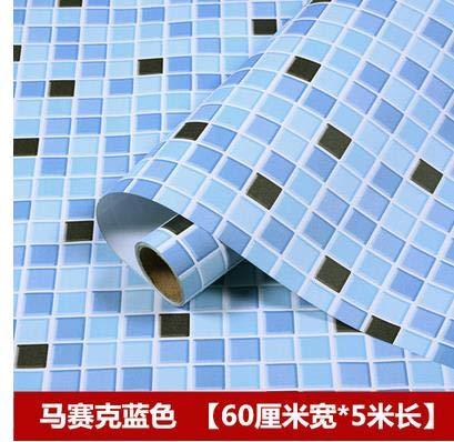 yuandp zelfklevende keuken oliebestendige stickers waterdicht oven kast badkamer tegels oude meubels renovering marmer 60cm x 5m