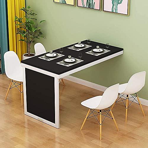 Inicio Conveniente escritorio montado en la pared ahorro de espacio trabajo escritorio plegable para cocina oficina bar flotante Drop-leaf computadora escritorio-d 35x20x30'-A_39x20x30'