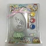 Henglongkeji Huevo de Pascua regalo de juguete personalizado logotipo de Navidad graffiti mano pintura huevo simulación pollo pato ganso huevo