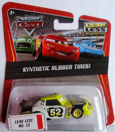 Disney / Pixar CARS Movie Exclusive 1:55 Die Cast Car with Synthentic Rubber Tires Leak Less
