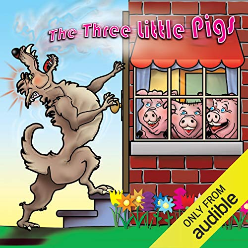 The Three Little Pigs Audiobook By Joseph Jacobs cover art