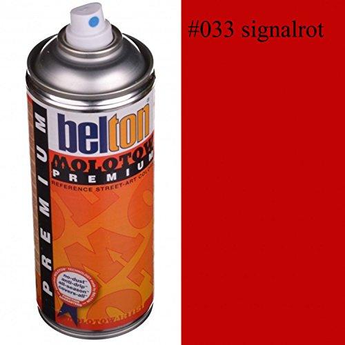Belton Molotow Premium Spray 400 ml signalrot