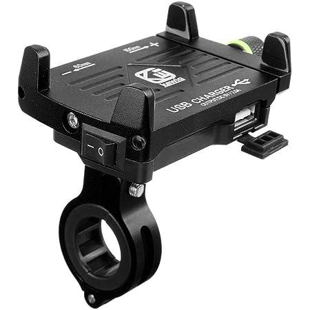 Kriogor Motorrad Handyhalter Qc 3 0 Usb Steckdose Mit Elektronik