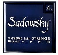 SADOWSKY サドウスキー エレキベース弦 Blue Flatwound SBF40