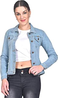 Sangani Women's Cotton Stretch Casual Jacket