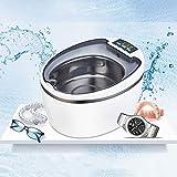 CGBF-750ML Nettoyeur Ultrasonique pour Prothèses Dentaires,Machine de Nettoyage de Bain À Ultrasons pour Bijoux de Maison Lunettes Montres