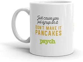 Psych Pancakes White Mug - 11 oz. - Official Coffee Mug
