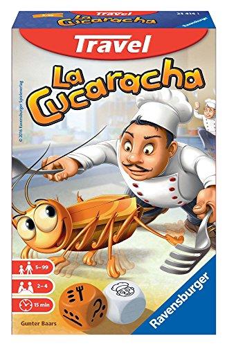 Ravensburger Italy-La Cucaracha Gioco Travel per Bambini e Adulti, Multicolore, 23414