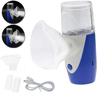 Paddsun Portable Mini Nebulizer Machine Rechargeable USB Handheld Inhaler Machine/Personal Cool Mist Vaporizer Ultrasonic Humidifier for Adult Kid