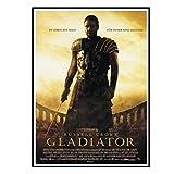 Swarouskll Der Film Gladiator Russell Crowe Wandkunst