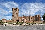 España Castillo Valladolid Rompecabezas para adultos 500 piezas Regalo de viaje de madera Recuerdo
