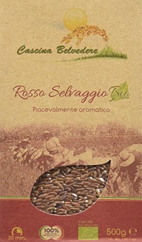 Cascina Belvedere Riso Rosso Selvaggio Integrale - 500 gr