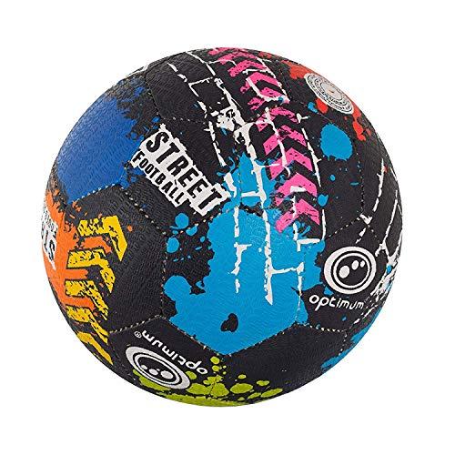 OPTIMUM Unisex-Adult Street Football Optimaler Straßenfußball, mehrfarbig, Mini, Graffiti