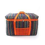 Bolsa de almuerzo, recipiente aislado, bolsa con aislamiento de 80L, lonchera con aislamiento suave, picnic, senderismo, pesca en la playa para adultos