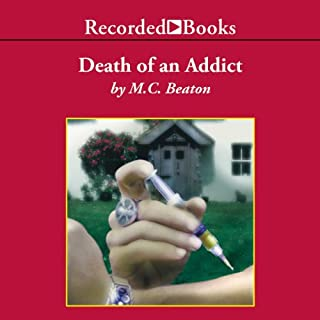 Death of an Addict audiobook cover art
