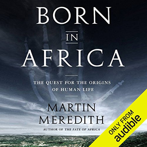 Born in Africa audiobook cover art