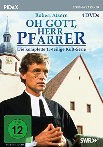 Oh Gott, Herr Pfarrer / Die komplette Kult-Serie mit Robert Atzorn (Pidax Serien-Klassiker) [4 DVDs]