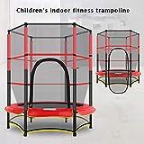 ZCXBHD Trampolino per Bambini Trampolino per Genitori-Figli Esercizio Indoor O Outdoor con Rete di Sicurezza - Rete di Sicurezza per Accessori per Trampolino,A