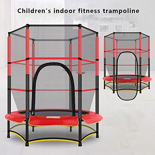 ZCXBHD Kindertrampoline, Ouder-kind trampoline Oefening binnen of buiten met veiligheidsnet -Trampoline Accessoire Veiligheidsnetten