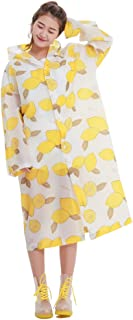 ZEMIN ポンチョ レインウェア スリッカー レインコート ポンチョ ウインドブレーカー 防水 カバー 隠す ファッション 学生の ポリエステル、 フリーサイズ、 使用可能な2色 (色 : A, サイズ さいず : Free Size)