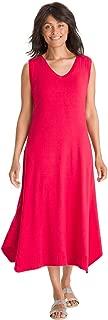 Women's Rib-Trim Midi Dress