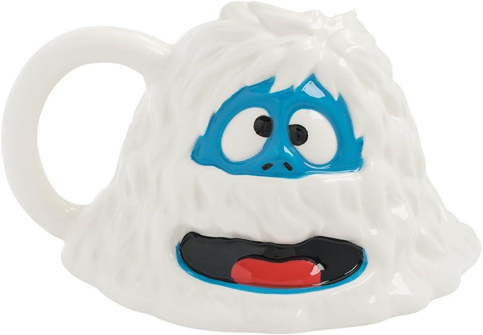 Weiße Yeti Kaffeetasse aus Keramik