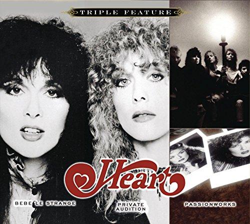 Heart: Bebe le Strange / Private Audition / Passionworks (Triple Feature) (Audio CD)