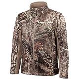 Huntworth Men's Mid Weight Soft Shell Hunting Jacket, Hidden, Medium